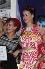 KATY PERRY Out and About in Torak, Australia