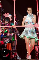 KATY PERRY Performs at The Prismatic World Tour in Melbourne