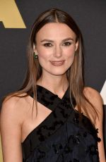 KEIRA KNIGHTLEY at AMPAS 2014 Governor's Awards in Hollywood