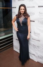 KELLY BROOK at Teens Unite Charity Ball in London