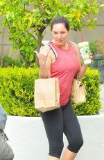 KELLY BROOK in Leggings Leaves a Gym in Los Angeles 1211