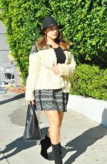 KELLY BROOK in Skirt Out Shopping in Los Angeles