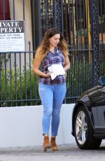 KELLY BROOK in Tight Jeans Out and About in Los Angeles