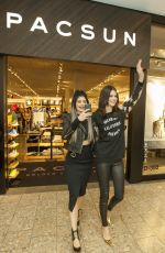 KENDALL abd KYLIE JENNER at Pacsun Holiday Collection Launch in Chicago