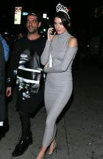 KENDALL JENNER at Just Jared's Homecoming Dance in Los Angeles