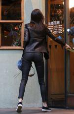 KENDALL JENNER Leaves Kate Mantilini Restaurant in Los Angeles.