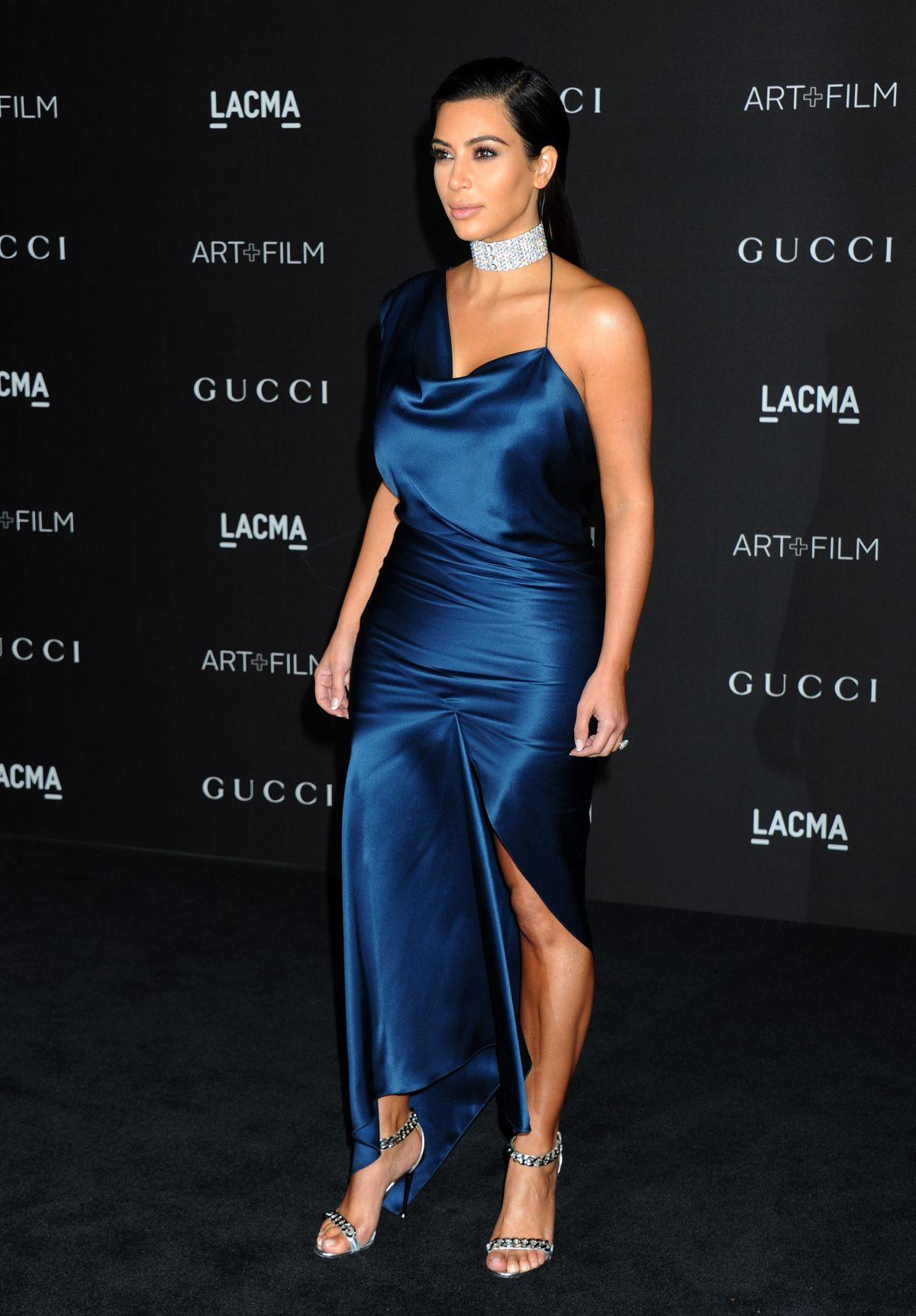 KIM KARDASHIAN at 2014 Lacma Art + Film Gala in Los Angeles