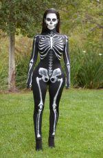 KIM KARDASHIAN Dressed for Halloween