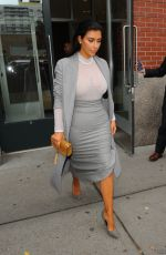 KIM KARDASHIAN Leaves Cipriani Downtown in New York