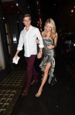 KIMBERLEY GARNER Arrives at The Arts Club in London