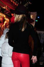 KIMBERLEY GARNER Arrives at Winter Wonderland in London