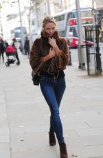 KIMBERLEY GARNER in Jeans Out and About in Lond 2111
