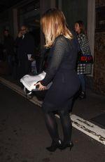 KIMBERLEY WALSH Arrives at Westbury Hotel in London