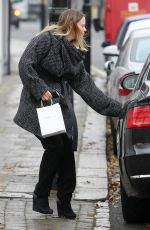 KIMBERLEY WALSH at a Recording Studio in London