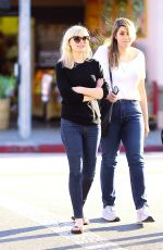 KIRSTEN DUNST in Jeans Out and About in Toluca Lake
