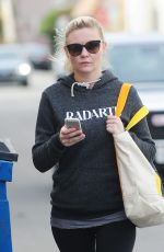 KIRSTEN DUNST in Spandex Out and About in Los Angeles