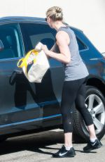 KIRSTEN DUNST in Tights Out and About in Studio City 0411