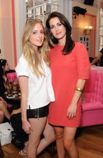 KIRSTY GALLACHER at Benefit Cosmetics Pop-up Pub Party in London