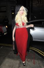KITTY BRUCKNELL at Now Christmas Party in London