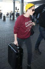 KRISTEN STEWART at Los Angeles International Airport 1711