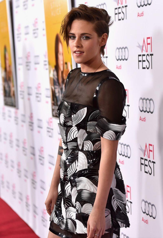 KRISTEN STEWART at Still Alice Screening  at AFI Fest 2014 in Hollywood