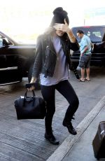 KYLIE JENNER Arrives at LAX Airport 0711