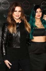 KYLIE JENNER at Kylie Hair Kouture Launch in Beverly Hills