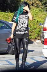 KYLIE JENNER Out and About in Los Angeles 1211