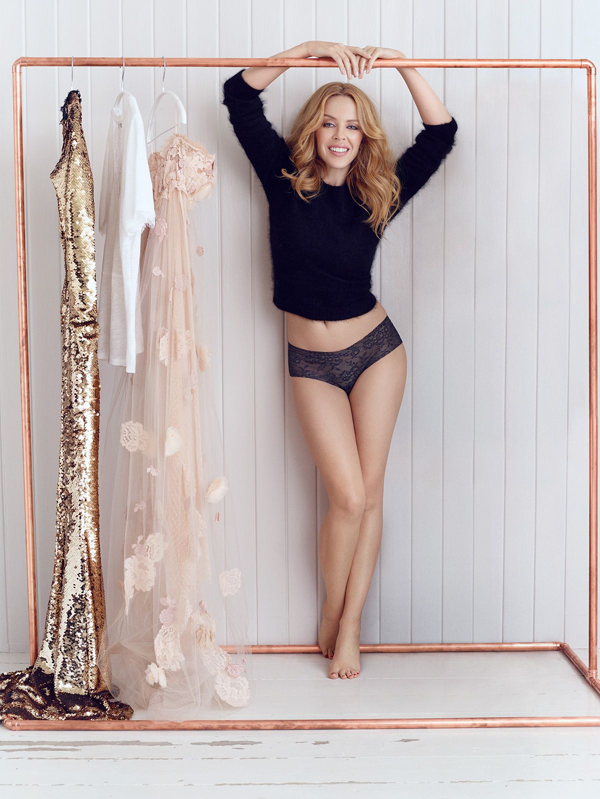 Kylie minogue lingerie advert 3