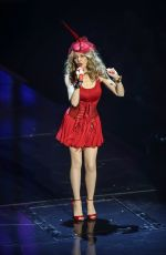 KYLIE MINOGUE Performs at a Concert in Lille