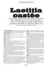 LAETITIA CASTA in Lui Magazine #13