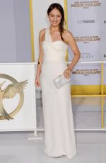 LAURA HADDOCK at The Hunger Games: Mockingjay – Part 1 Premiere in Los Angeles