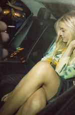 LAURA WHITMORE Arrives at MTV EMA Press Dinner in Glasgow