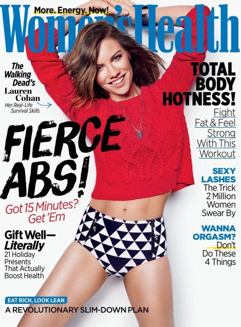 LAUREN COHAN on the Cover of Women