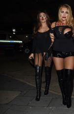 LAUREN GOODGER at Kiss FM Halloween Party