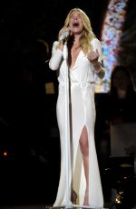 LEANN RIMES Performs at 2014 CMA Country Christmas in Nashville