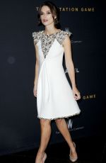 LEIRA KNIGHTLEY at The Imitation Game Premiere in Los Angeles