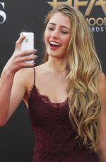 LIA MARIE JOHNSON at 2014 Hollywood Film Awards