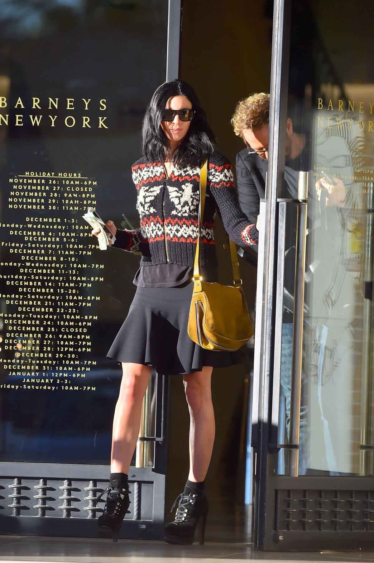 LIBERTY ROSS Leaves Barneys in New York