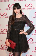 LILAH PARSONS at Chairfinity Launch Party in London