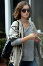 LILLY COLLINS Out and About in Hollywood, 3110