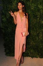 LILY ALDRIDGE at 2014 Cfda/Vogue Fashion Fund Awards in New York