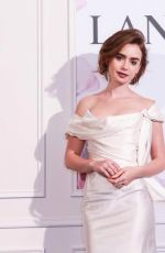 LILY COLLINS at Lancome Miracle Gala Dinner in Taiwan