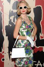 LINDSAY ELLINGSON at Heidi Klum's Halloween Party in New York