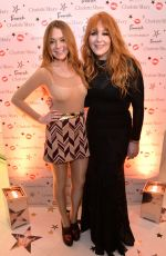 LINDSAY LOHAN at Beauty Booth Launch in London