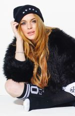 LINDSAY LOHAN - Civil Clothing 2014 Photoshoot