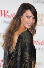 LIZZIE CUNDY at Fashion for Relief Pop-up Store Launch at Westfield in London
