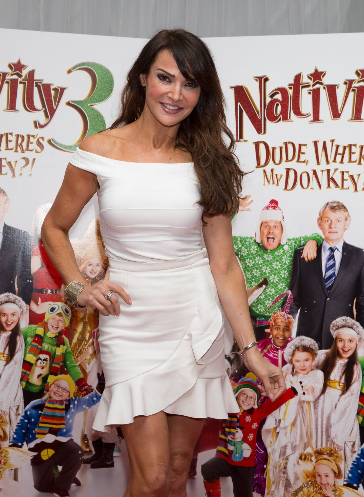 LIZZIE CUNDY at Nativity 3: Dude, Where's My Donkey Premiere in London