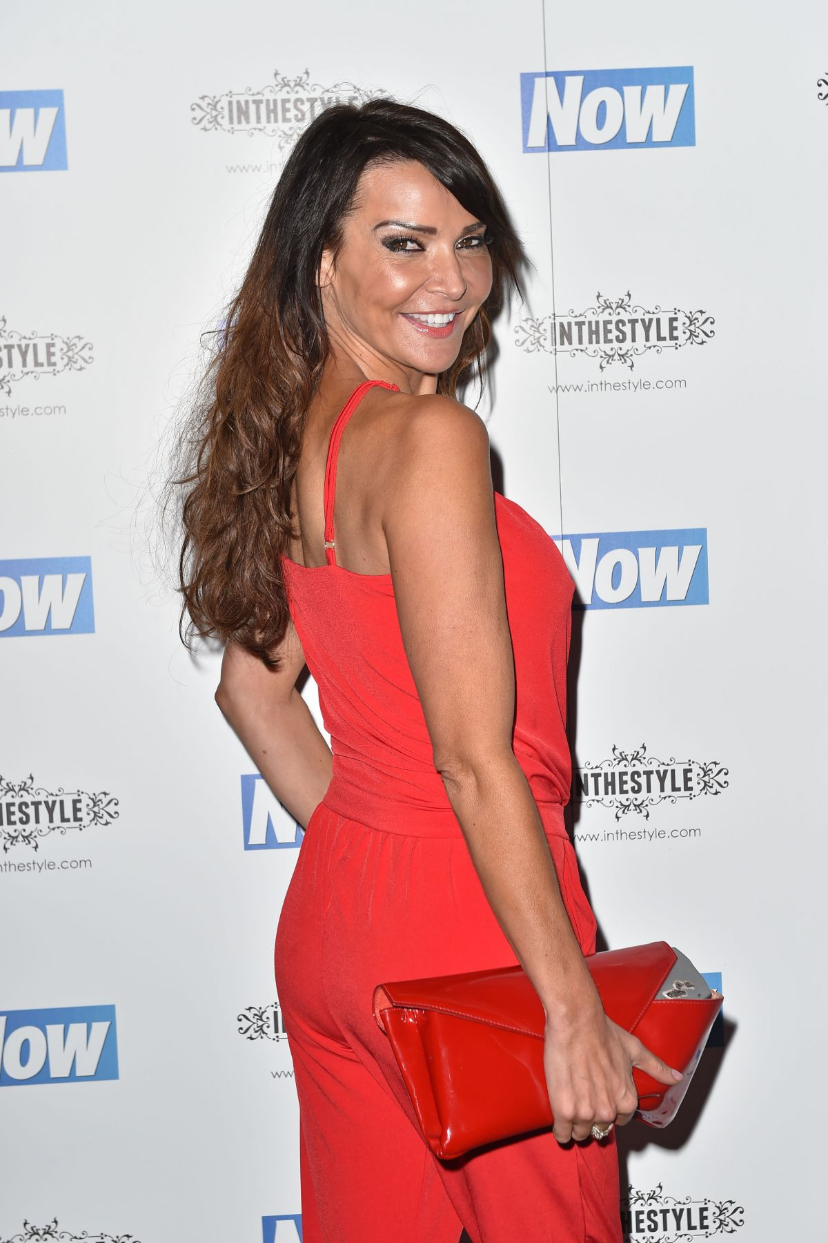 LIZZIE CUNDY at Now Christmas Party in London