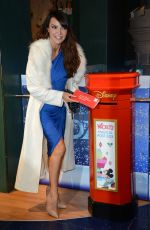 LIZZIE CUNDY at Share the Magic Charity Campaign Launch in London